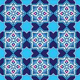Conçu avec des nuances des séries bleues six de modèle de tabouret illustration de vecteur