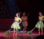 Conéctela cierre-danza popular aduana-china de la nacionalidad Imagen de archivo