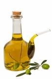 Con aceite de oliva Fotografía de archivo
