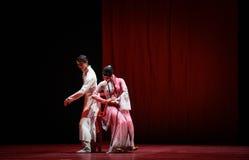 """Con emozione è attaccato ad un  di Lanfang†di drama""""Mei di persona-ballo Immagine Stock"""