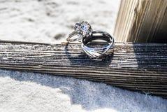 Con estos anillos Fotografía de archivo libre de regalías