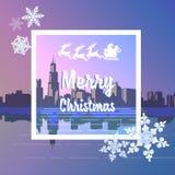 Con Feliz Navidad Fotografía de archivo libre de regalías