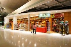 Con franquicia en el aeropuerto de Suvarnabhumi foto de archivo libre de regalías