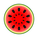 Con half of watermelon Royalty Free Stock Photos