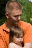 Con il Daddy Fotografie Stock Libere da Diritti