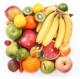 Con la fruta bajo la forma de cuadrado Imagen de archivo libre de regalías