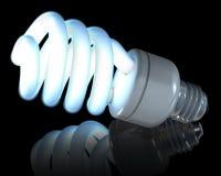 Con lampada al neon Immagine Stock