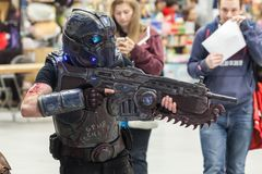 NOR-CON Norfolk UK TV, Film, and Comic Convention 2017 Stock Photos