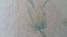 Con precisione progettazione del fiore del tessuto per il tessuto e la stampa, usata per i vestiti immagine stock libera da diritti