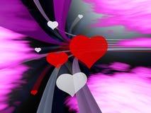 Con velocità di amore Fotografie Stock