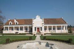 Conacul Apafi, slott av XV århundradet, Maranclav, Transylvania Royaltyfria Bilder