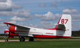 Conair Firecat samolot Przy Reynold Alberta muzeum Obraz Stock