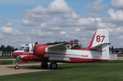 Conair Firecat samolot Przy Reynold Alberta muzeum Zdjęcie Stock