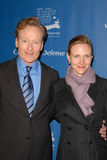 Conan O'Brien. And wife Liza Powel  at the Children Defense Fund-California 19th Annual Los Angeles Beat The Odds Awards, Beverly Hills Hotel, Beverly Hills, CA Royalty Free Stock Photo