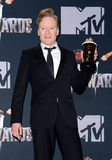 Conan O'Brien. At the 2014 MTV Movie Awards - Press Room held at the Nokia Theatre L.A. Live in Los Angeles on April 13, 2014 in Los Angeles, California Royalty Free Stock Images