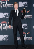 Conan O'Brien. At the 2014 MTV Movie Awards - Press Room held at the Nokia Theatre L.A. Live in Los Angeles on April 13, 2014 in Los Angeles, California Royalty Free Stock Photos