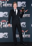 Conan O`Brien. At the 2014 MTV Movie Awards - Press Room held at the Nokia Theatre L.A. Live in Los Angeles, USA on April 13, 2014 Royalty Free Stock Photo