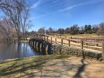 Concórdia norte velha miliampère da ponte Fotografia de Stock Royalty Free