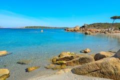 Conca Verde海岸线在一个晴天 库存照片