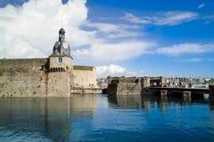Concarneau in Bretagne Royalty-vrije Stock Afbeelding