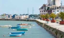 Concarneau in Bretagne Royalty-vrije Stock Fotografie