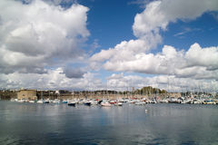 Concarneau in brittany Royalty Free Stock Photo