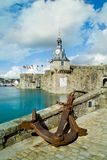 Concarneau in brittany Stock Image
