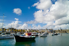 Concarneau en Bretagne Lizenzfreies Stockbild