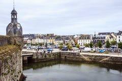 Concarneau, Finistère, Bretagne, Frankrijk Stock Foto's