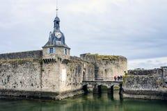 Concarneau, Finistère, Bretagne, Frankrijk Stock Afbeelding