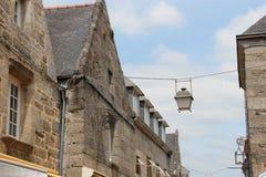 Concarneau - Frankrike Arkivbilder