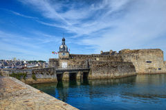 Concarneau medieval town Brittany Stock Image