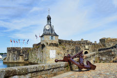 Concarneau medieval town Stock Photos