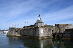 Concarneau Walled City Royalty Free Stock Image