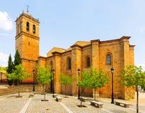 Concathedral di San Pedro a Soria spain Immagine Stock Libera da Diritti