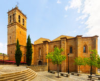Concathedral of San Pedro at Soria Stock Photography
