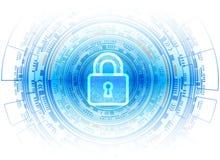 Conce de Gegevensbescherming van de van de Bedrijfs cyberveiligheid Technologieprivacy Stock Foto's