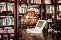 Conce de madeira rústico retro da decoração interior da mobília do vintage imagem de stock