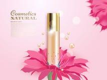 Concealer с цветками Стоковая Фотография RF