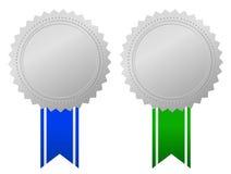 Conceda el emblema Imagen de archivo libre de regalías