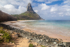Conceicao  Beach Fernando de Noronha Island Royalty Free Stock Image