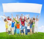 Conceito étnico da unidade da unidade da variação da diversidade diversa Imagem de Stock Royalty Free