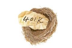conceito 401k Imagens de Stock