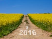 Conceito 2016 Imagem de Stock Royalty Free