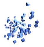 Conceito abstrato das conexões Fotos de Stock