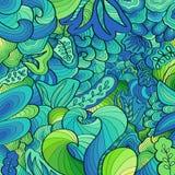 Conceito abstrato do fundo do ornamento com vidros Fotografia de Stock Royalty Free