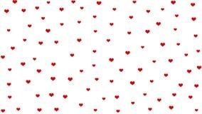 Conceito abstrato dos corações para o dia de Valentim foto de stock