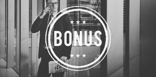 Conceito adicional Incentive da compensação do lucro premiado do bônus Fotografia de Stock Royalty Free