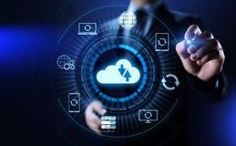 Conceito alternativo da tecnologia do Internet do banco de dados da aplicação de software foto de stock royalty free