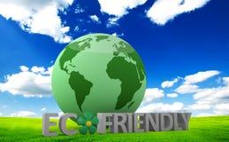 Conceito amigável de Eco Imagem de Stock